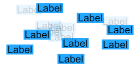 Non-Overlapping Labels
